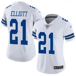 Women Cowboys Ezekiel Elliott Jersey 1